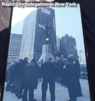 Rapid City 911 Delegation in New York