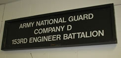 Army National Guard, Company D, 153rd Engineer Battalion