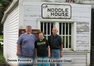 Dennis Povondra - Mildred and Leonard Cimpl