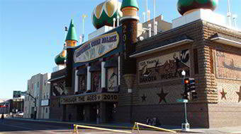 The world's only Corn Palace in Mitchell South Dakota